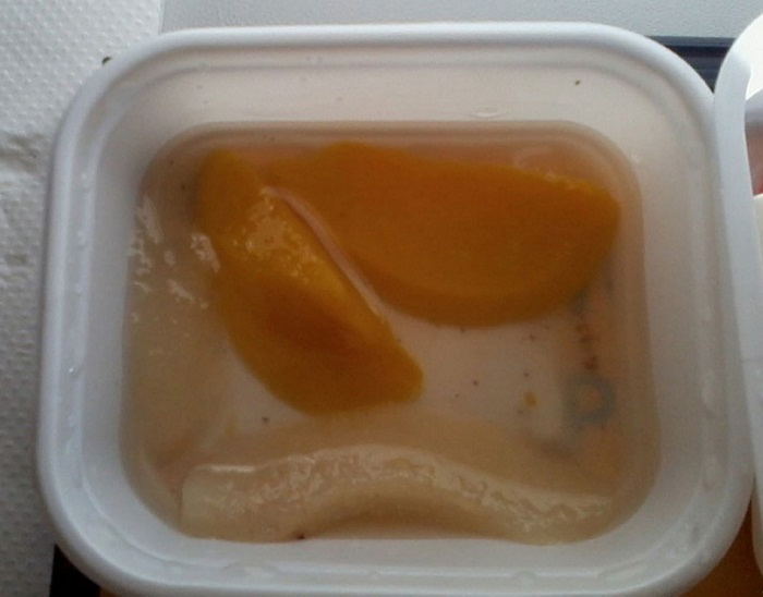 1 worst airline food