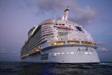 1 cruise ship
